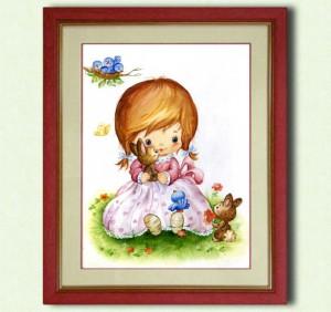 Картины в детскую комнату. Настя