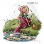 Иллюстрация «В летний день».
