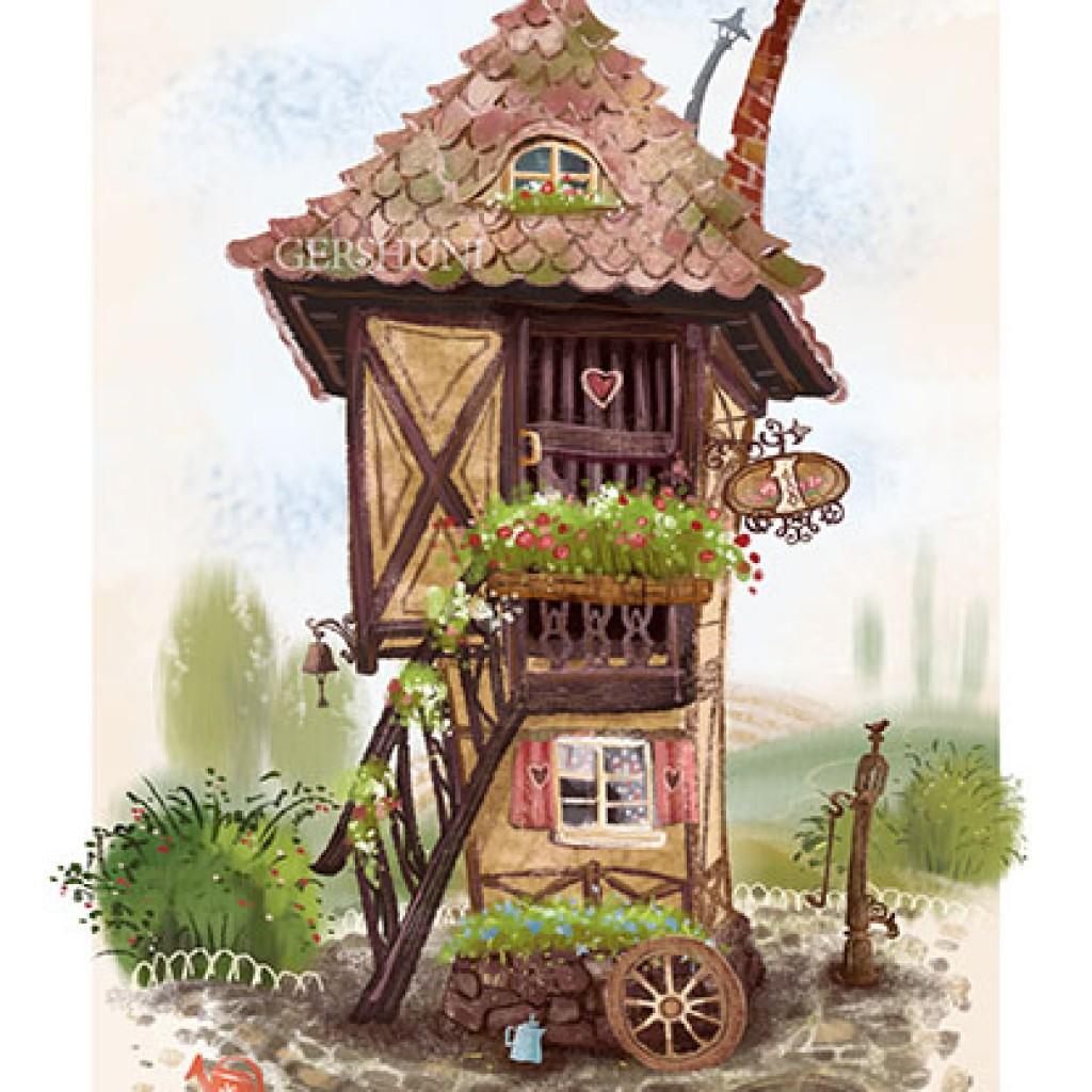 Иллюстрация домик