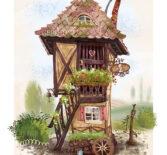 Иллюстрация.  Дом, в котором хорошо.