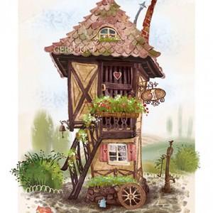 иллюстрация домик house