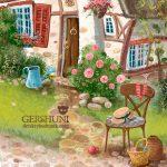 Иллюстрация летний домик Гершуни