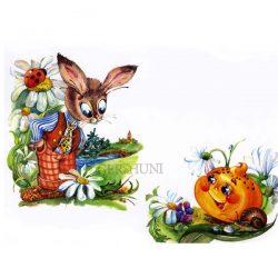 Колобок и зайчик